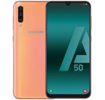 Telefon mobil Samsung Galaxy A50, Dual SIM, 128GB, LTE, Coral