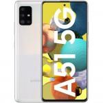 Telefon mobil Samsung Galaxy A51 5G (2020), 128GB, 6GB RAM, Dual SIM, White