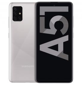 Telefon mobil Samsung Galaxy A51 (2020), 128GB, 4GB RAM, Dual SIM, LTE, Crush Silver