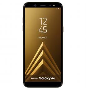 Telefon mobil Samsung Galaxy A6 (2018), Dual SIM, 32GB, LTE, Gold