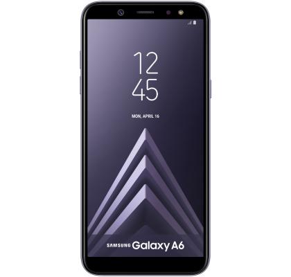 Telefon mobil Samsung Galaxy A6 (2018), Dual SIM, 32GB, LTE, Orchid Gray