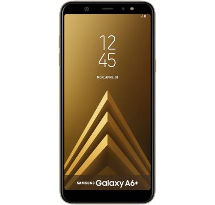 Telefon mobil Samsung Galaxy A6+, Dual SIM, 32GB, LTE, Gold