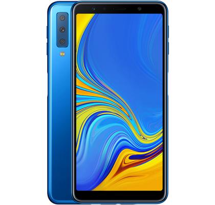 Telefon mobil Samsung Galaxy A7 (2018), Dual SIM, 64GB, LTE, Blue