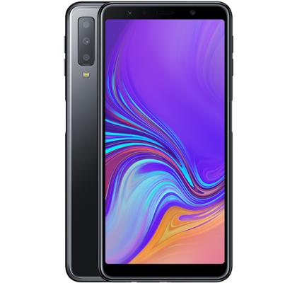 Telefon mobil Samsung Galaxy A7 (2018), Dual SIM, 64GB, LTE, Black