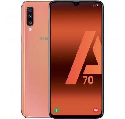 Telefon mobil Samsung Galaxy A70, Dual SIM, 128GB, LTE, Coral