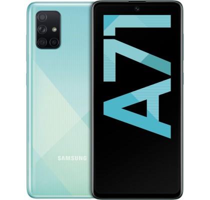 Telefon mobil Samsung Galaxy A71 (2020), 128GB, 6GB RAM, Dual SIM, 4G, Blue