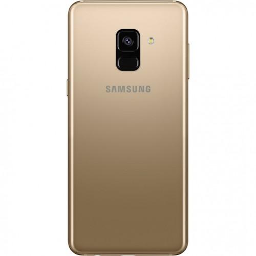telefon mobil samsung galaxy a8 2018 dual sim 32gb lte gold. Black Bedroom Furniture Sets. Home Design Ideas