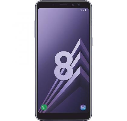 Telefon mobil Samsung Galaxy A8 (2018), Dual SIM, 32GB, LTE, Orchid Gray