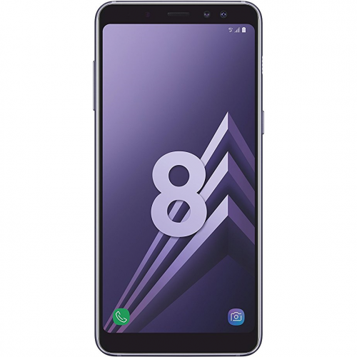 telefon mobil samsung galaxy a8 2018 dual sim 32gb lte orchid gray. Black Bedroom Furniture Sets. Home Design Ideas