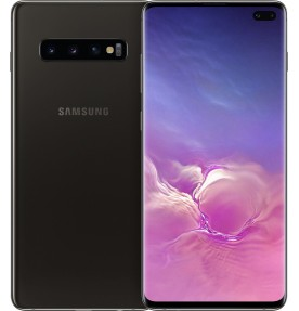 Telefon mobil Samsung Galaxy S10 Plus, Dual SIM, 512GB, LTE, Ceramic Black