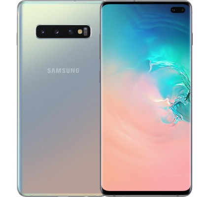 Telefon mobil Samsung Galaxy S10 Plus, Dual SIM, 128GB, LTE, Silver