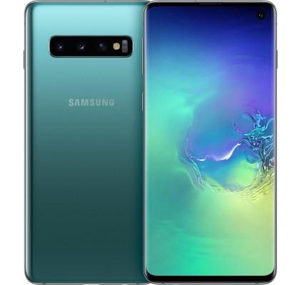 Telefon mobil Samsung Galaxy S10, Dual SIM, 512GB, LTE, Green Tale