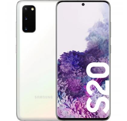 Telefon mobil Samsung Galaxy S20, Dual SIM, 128GB, LTE, Cloud White