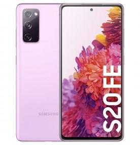Samsung Galaxy S20 FE 4G, 128GB, 6GB RAM, Dual SIM, Cloud Lavender