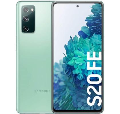 Samsung Galaxy S20 FE 4G, 128GB, 6GB RAM, Dual SIM, Cloud Mint
