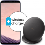 Pachet PROMO Samsung: Galaxy S8, 64GB, Orchid Gray + Convertible Wireless Charger