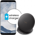 Pachet PROMO Samsung: Galaxy S8, 64GB, Silver + Convertible Wireless Charger