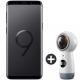 Telefon mobil Samsung G960 Galaxy S9, Dual SIM, 64GB, LTE, Midnight Black