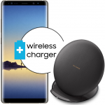Pachet PROMO Samsung: Galaxy Note 8, 64GB, Gold + Convertible Wireless Charger
