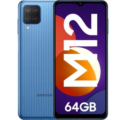 Samsung Galaxy M12 (2021), 64GB, 4GB RAM, Dual SIM, 4G, Blue
