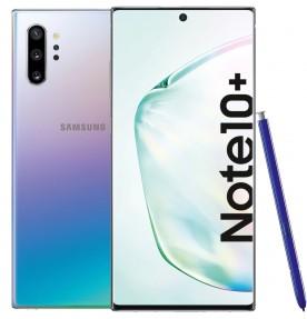 Telefon mobil Samsung Galaxy Note 10+, 512GB, 12GB RAM, Dual SIM, 4G, Aura Glow