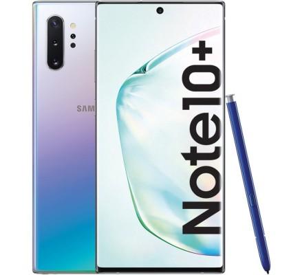 Telefon mobil Samsung Galaxy Note 10+, 256GB, 12GB RAM, Dual SIM, 4G, Aura Glow