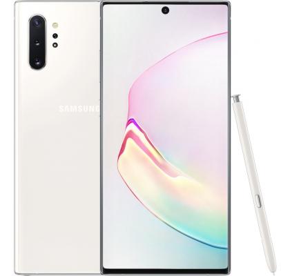 Telefon mobil Samsung Galaxy Note 10+, Dual SIM, 256GB, LTE, White