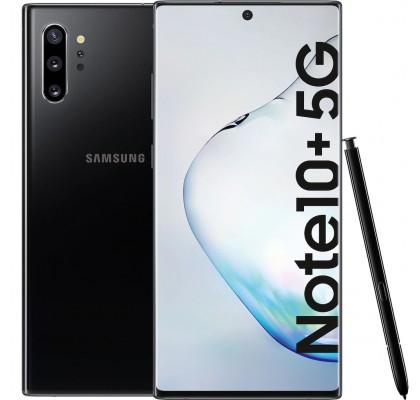Telefon mobil Samsung Galaxy Note 10+, 256GB, 12GB RAM, Single SIM, 5G, Aura Black