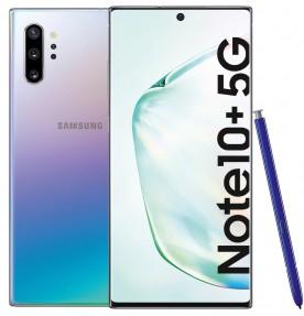 Telefon mobil Samsung Galaxy Note 10+, 256GB, 12GB RAM, Single SIM, 5G, Aura Glow
