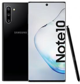 Telefon mobil Samsung Galaxy Note 10, 256GB, 8GB RAM, Dual SIM, 4G, Aura Black