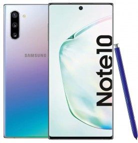 Telefon mobil Samsung Galaxy Note 10, 256GB, 8GB RAM, Dual SIM, 4G, Aura Glow