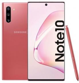 Telefon mobil Samsung Galaxy Note 10, 256GB, 8GB RAM, Dual SIM, 4G, Aura Pink