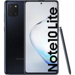 Telefon mobil Samsung Galaxy  Note 10 Lite, 128GB, 6GB RAM, Dual SIM, 4G, Aurora Black