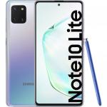 Telefon mobil Samsung Galaxy  Note 10 Lite, 128GB, 6GB RAM, Dual SIM, 4G, Aurora Glow