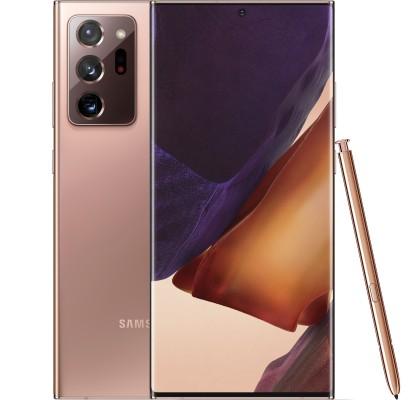 Telefon mobil Samsung Galaxy Note 20 Ultra 5G, 256GB, 12GB RAM, Dual SIM, Mystic Bronze
