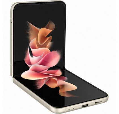Samsung Galaxy Z Flip3, 5G, 256GB, 8GB RAM, Dual SIM, Cream