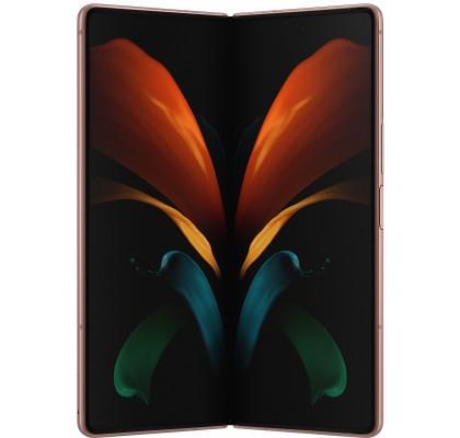 Telefon mobil Samsung Galaxy Z Fold2 5G, 256GB, 12GB RAM, Dual SIM, Mystic Bronze