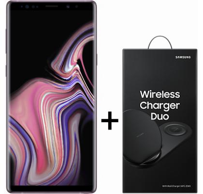 Telefon mobil Samsung Galaxy Note 9, Dual SIM, 128GB, LTE, Lavender Purple