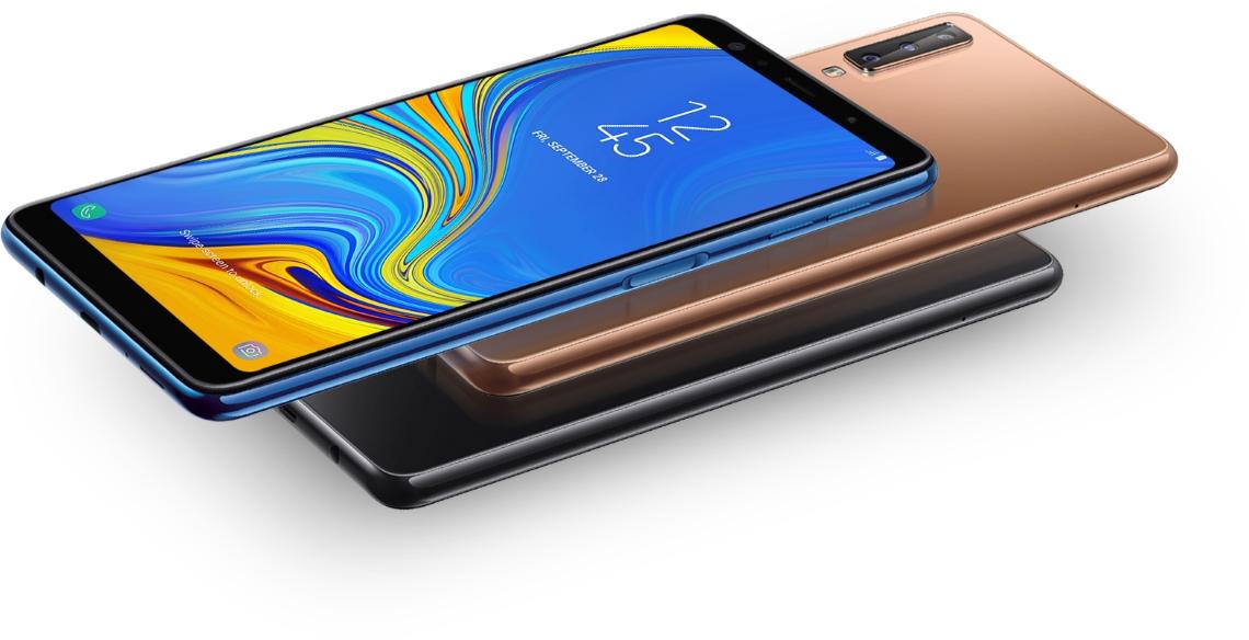 Telefon mobil Samsung Galaxy A7 (2018), Dual SIM, 64GB, LTE